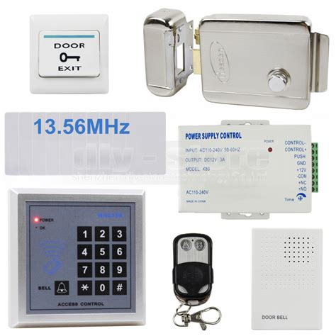 Kartu Mifare 13 56 Mhz Access Door Lock Rfid Card door bell rfid 13 56 mhz ic card reader keypad access system security kit electric