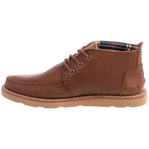 chukka boots leather toms leather chukka boots for