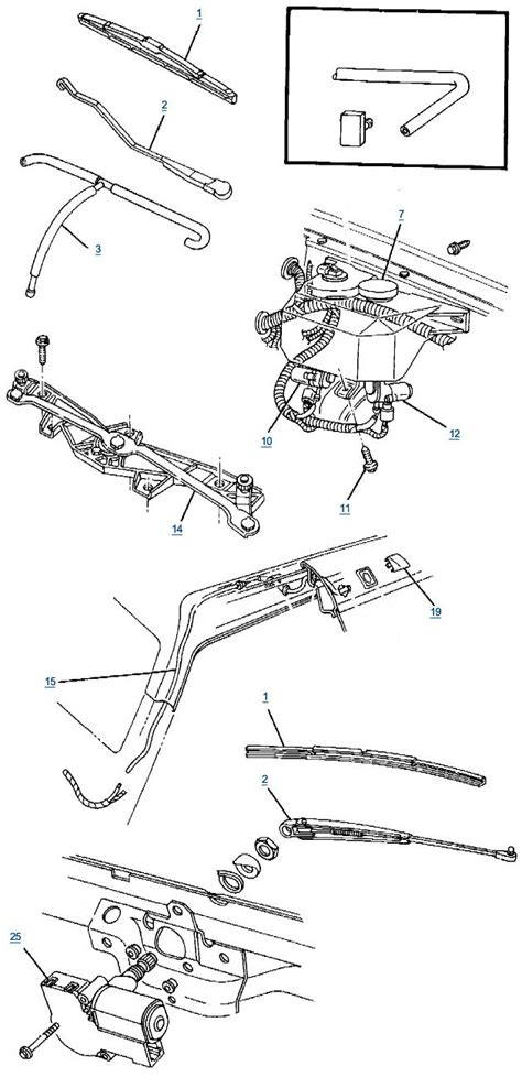 19 gm steering column wiring diagram for wipers