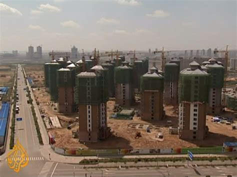 abandoned cities in china photos of kangbashi a ghost city in china business insider
