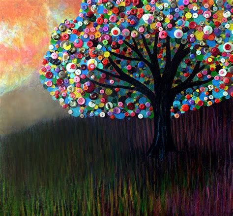 Button Painting button tree 0004 by furlow