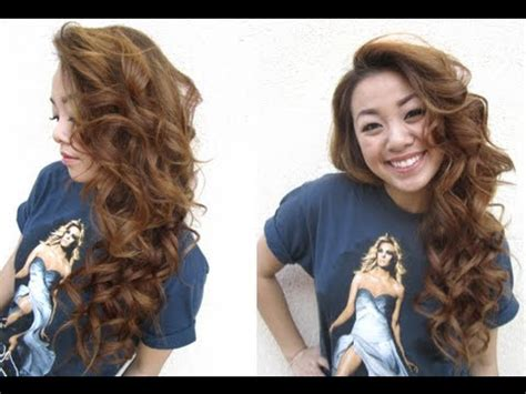curly hairstyles using straightener curling hair with a flat iron youtube