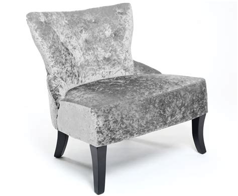 silver bedroom chair hawkhurst silver crushed velvet bedroom chair