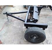 Tiny House Trailer Dolly With 5th Wheel Hitch And Standard Ball
