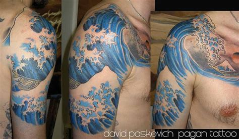 japanese waves tattoo japanese wave tattoos