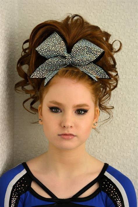 cheerleading hairstyles competition cheer hairstyles fade haircut