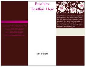 free brochure templates for word free brochure template tri fold brochure template free