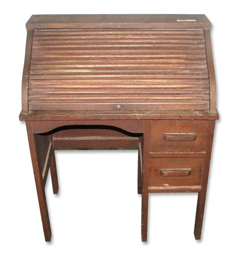 vintage small roll top desk child s small vintage roll top desk olde things