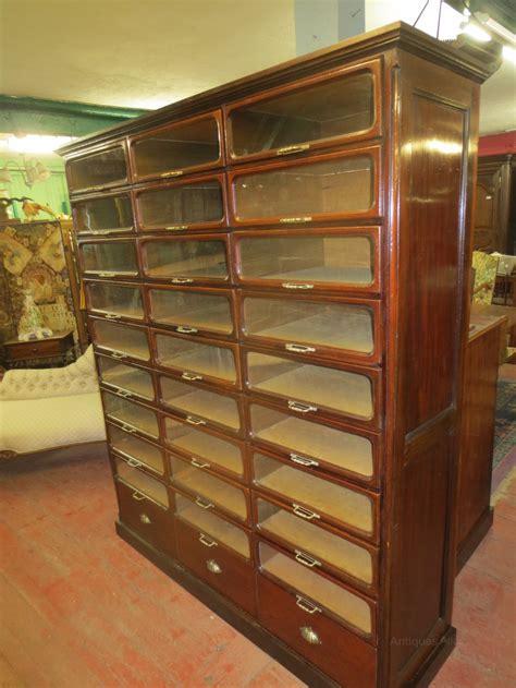 Atlas Cabinets by Edwardian Mahogany Haberdashery Cabinet Antiques Atlas