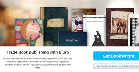 self publishing templates new self publishing options from blurb and book design