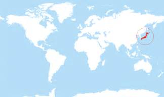 Japan On World Map by Where Is Japan Located On The World Map