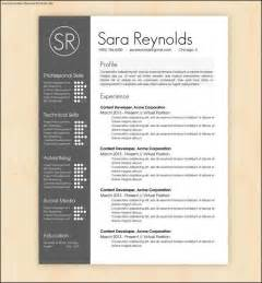 Free Cool Resume Templates by Cool Resumes Templates Free Sles Exles Format