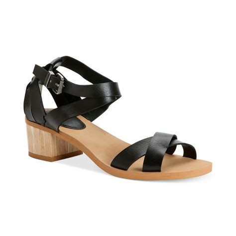 klein sandals calvin klein ck molly city sandals in black black