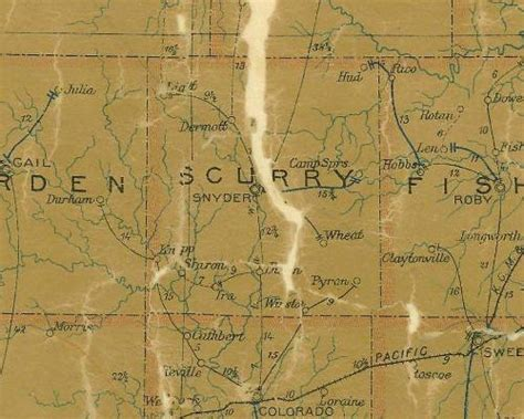 scurry texas map hud texas