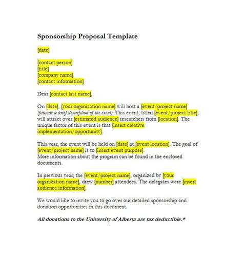 inspirationa format of a sponsorship letter newerasolutions co