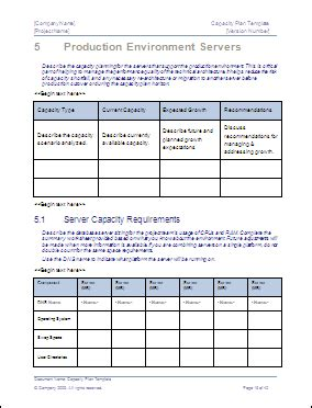 Capacity Plan Template Download Microsoft Word And Excel Templates Capacity Planning Template Excel