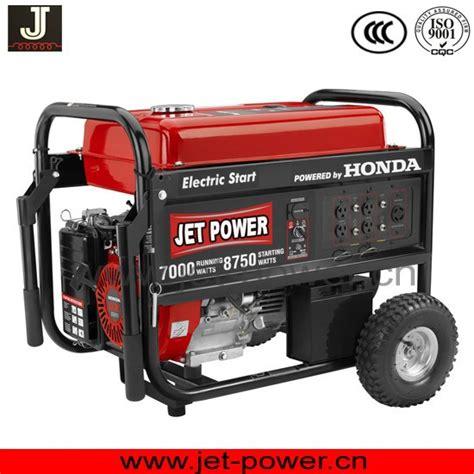 honda electric generators max 5500 watt powered by gx390