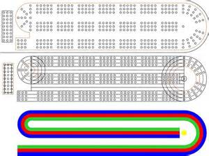 29 Cribbage Board Template by Cribbage Board Holes Coreldraw X6 Coreldraw Graphics