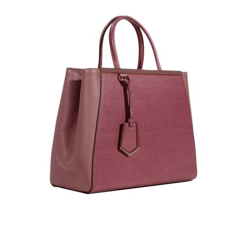 Fendi With You Seprem Yi fendi handbag 2 jours medium leather in lyst