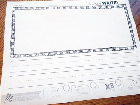 check writing paper writing paper with editing checklist freebie teach junkie