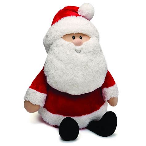 gund santa claus jumbo christmas plush 30 quot and 50 similar
