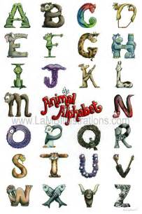 illustrations animal alphabet take 2