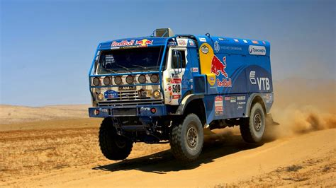 truck rally kamaz truck dakar rally hd wallpaper