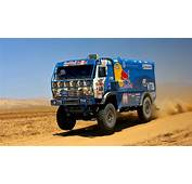 Kamaz Truck Dakar Rally  HD Wallpaper Download