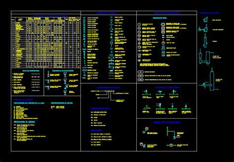 legend  process instrumentation dwg detail  autocad