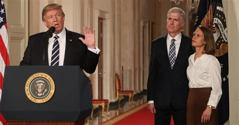 neil gorsuch new york times neil gorsuch a supreme court nominee who looks the part