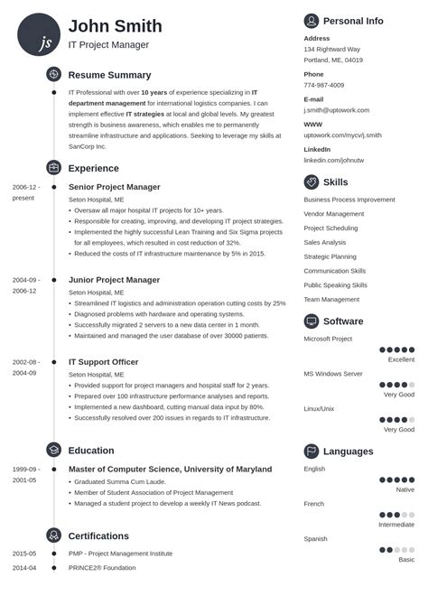 template resume pantip resume templates template free indesign cv infographic