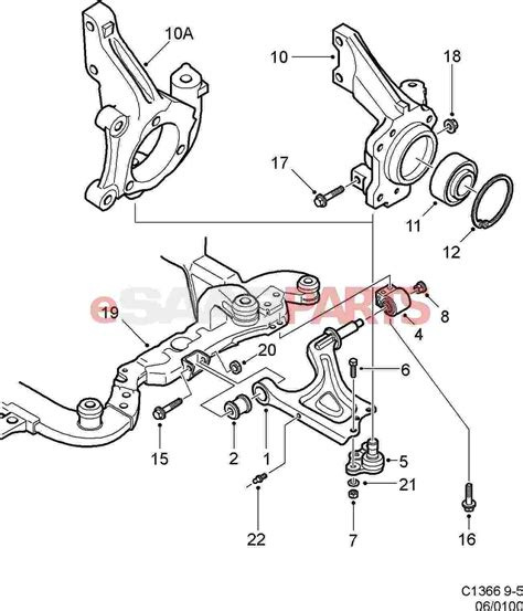 saab parts diagrams 11100011 saab hexagon genuine saab parts from