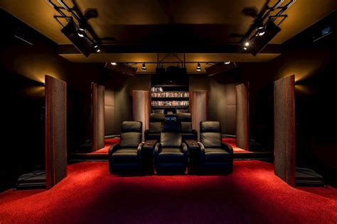 area homes   luxe home theaters
