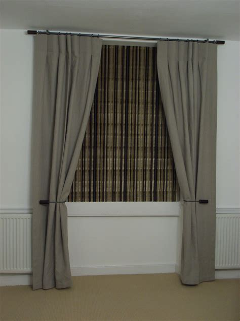 curtains for windows with blinds window dressings style within