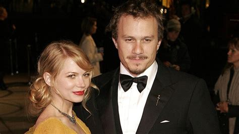 Heath Ledger And Williams Might Be Married by Why Heath Ledger S Ex Partner Williams Is Still