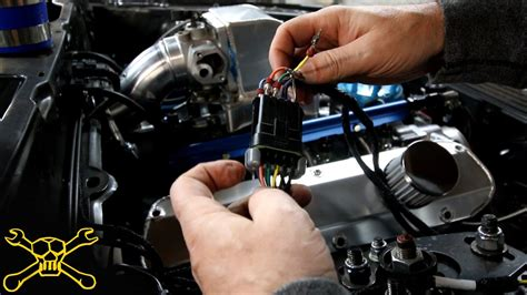 wire  fuel injector wiring harness youtube