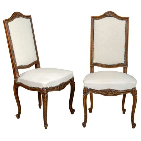Louis Xv Dining Chairs Vintage Louis Xv Set Of Six Dining Chairs At 1stdibs
