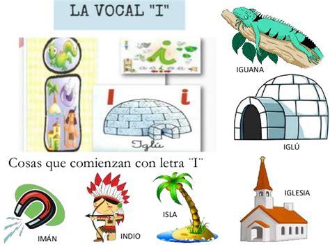 imagenes que empiecen con la letra i a color las vocales
