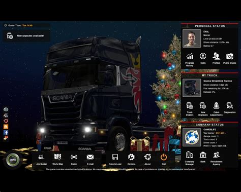 X Mod Game Center | ets2 profile game 1 26 x mod ets2 mod