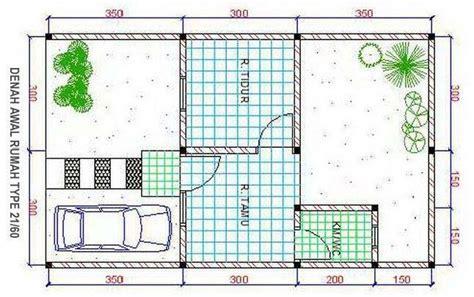 denah rumah minimalis sederhana type  denah rumah