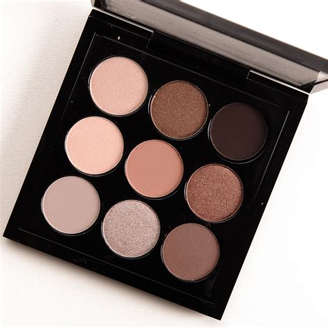 eye shadow mac mac macnificent eyeshadow palette review photos swatches