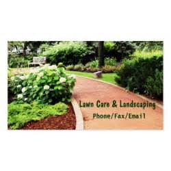 business cards landscaping lawn landscaping business card zazzle