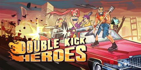 double kick heroes nintendo switch  software games nintendo