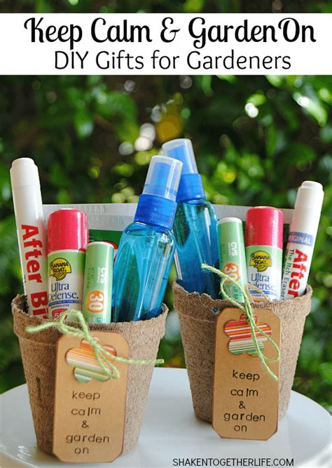 Present Ideas For Gardeners Keep Calm Garden On Diy Gifts For Gardeners