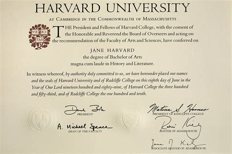 Bs Mba Diploma by History By Degrees Harvard Gazette
