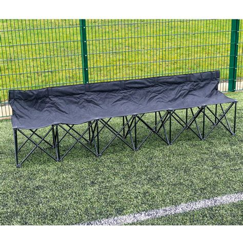 6 folding bench 6 seater folding subs bench mj sport