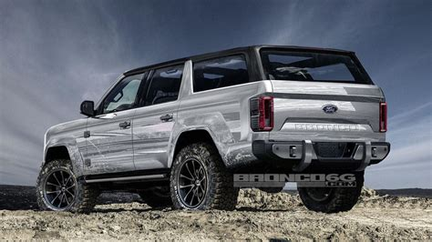2020 Ford Bronco With Removable Top by 2020 Ford Bronco Sharply Rendered As Four Door Removable Roof