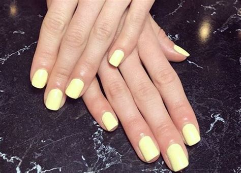 light yellow nail 5 nail trends we re obsessed with for summer 2018 purewow