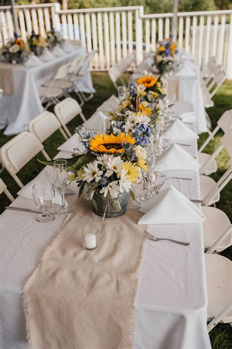 sunflower centerpieces for wedding 1000 ideas about sunflower wedding centerpieces on