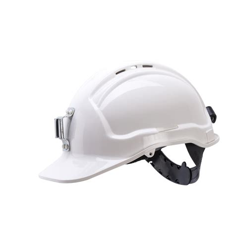 miners lights for hard hats miners hard hat l bracket non vented white